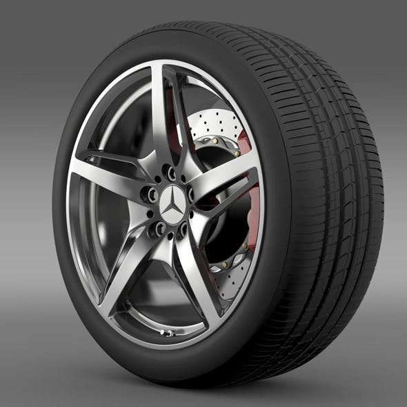 Mercedes Benz AMG GT S wheel - 3DOcean Item for Sale