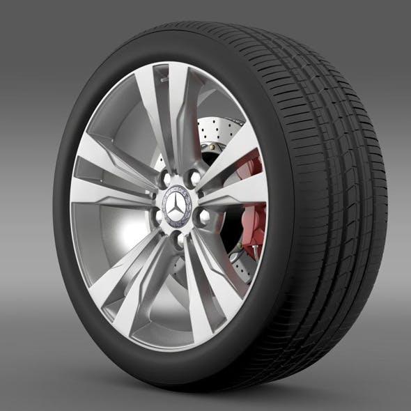 Mercedes Benz S 350 wheel - 3DOcean Item for Sale