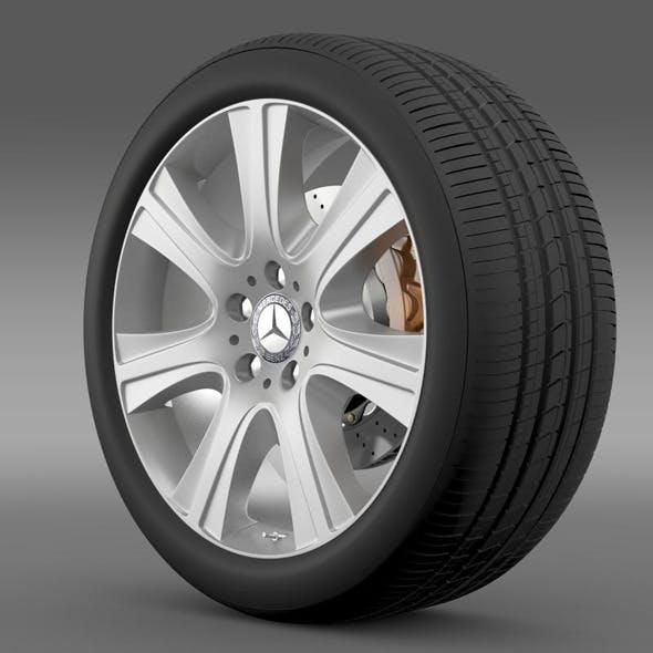 Mercedes Benz S 600 guard wheel
