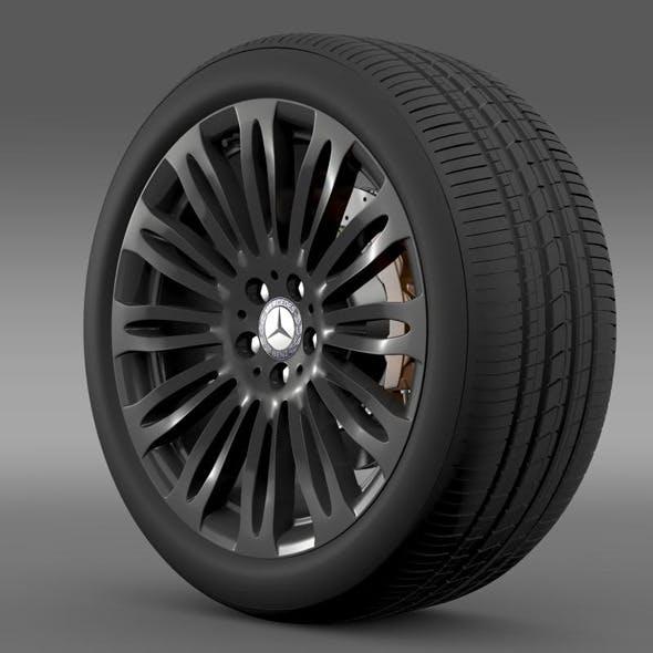Mercedes Benz S 600 wheel - 3DOcean Item for Sale