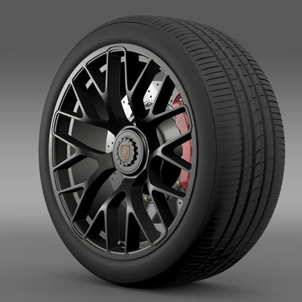 Porsche GTS 2015 wheel - 3DOcean Item for Sale