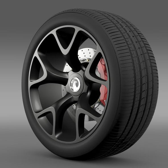 Vauxhall Insignia VRX wheel
