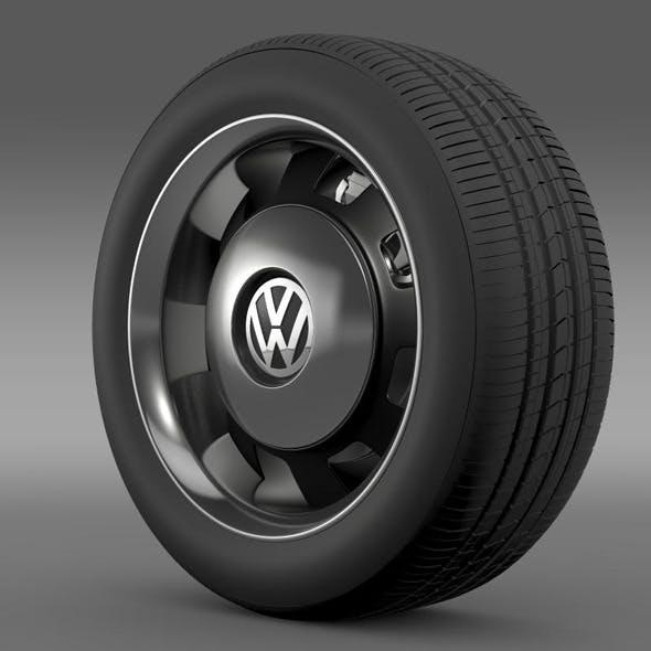 VW Beetle Classic wheel - 3DOcean Item for Sale