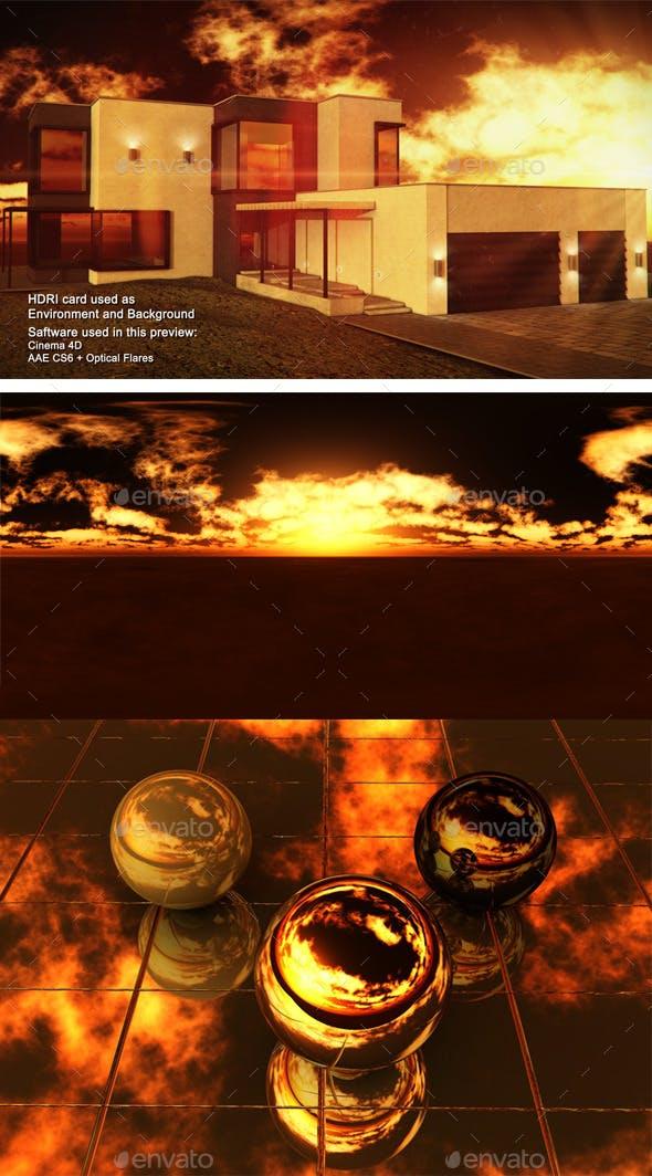 Sunset Desert 16 - 3DOcean Item for Sale