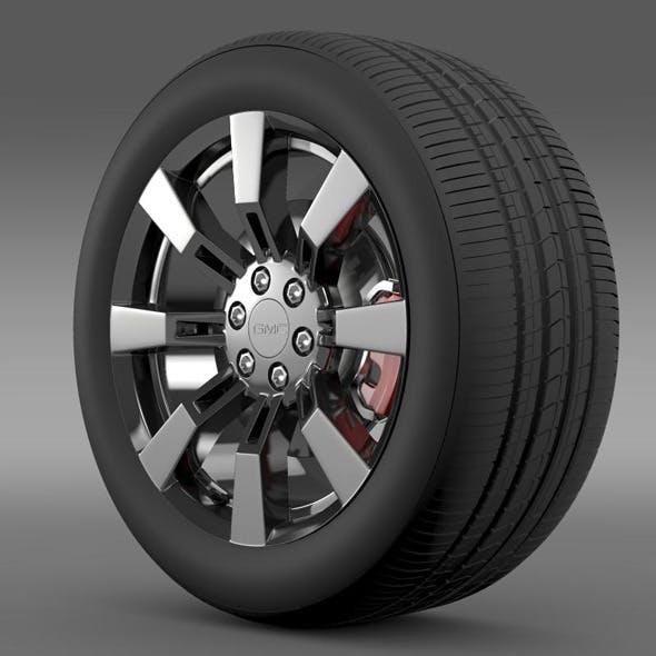 GMC Denali Hybrid wheel