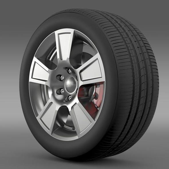 GMC Sierra Regular cab wheel - 3DOcean Item for Sale