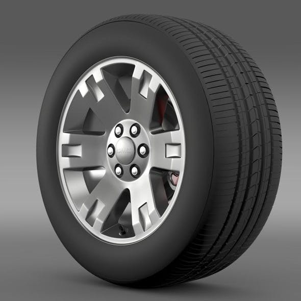 GMC Yukon XL wheel