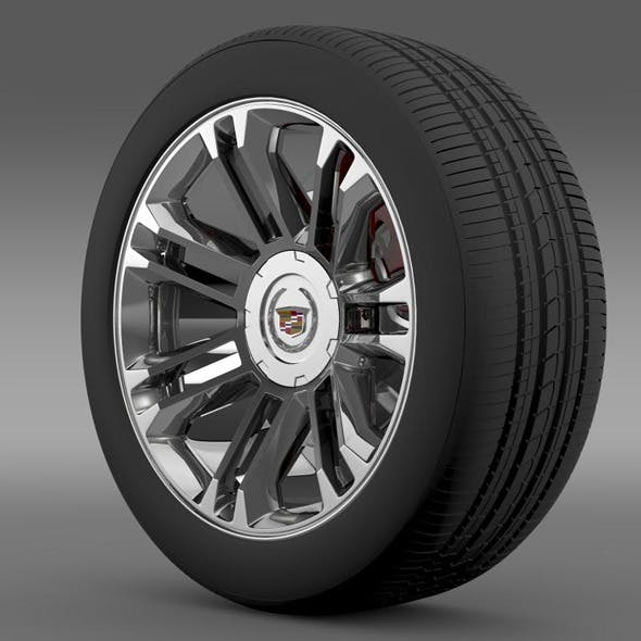 Cadillac Escalade 2013 wheel - 3DOcean Item for Sale