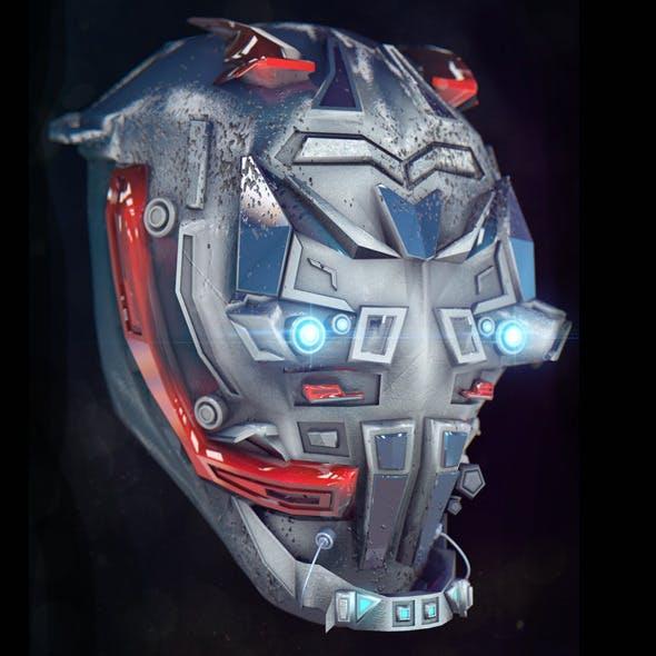 Robot Head - 3DOcean Item for Sale