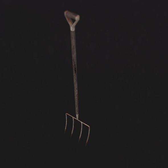 Basic Pitchfork - 3DOcean Item for Sale