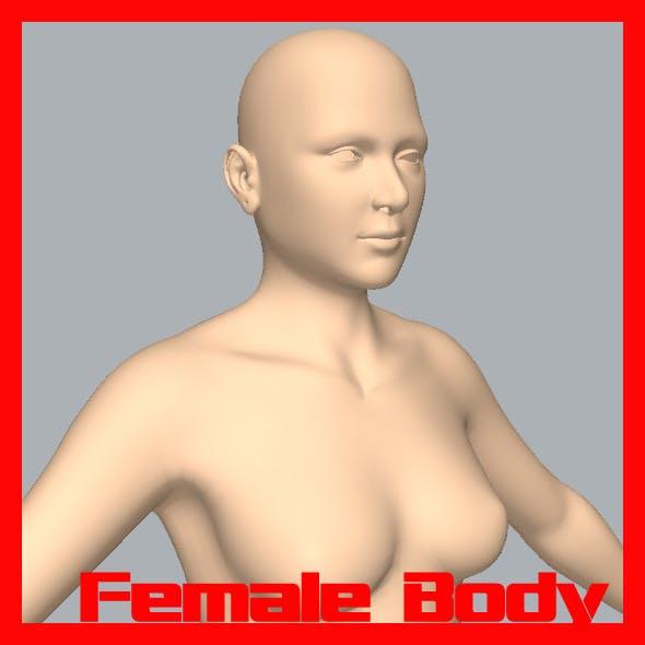 Female Body - 3DOcean Item for Sale