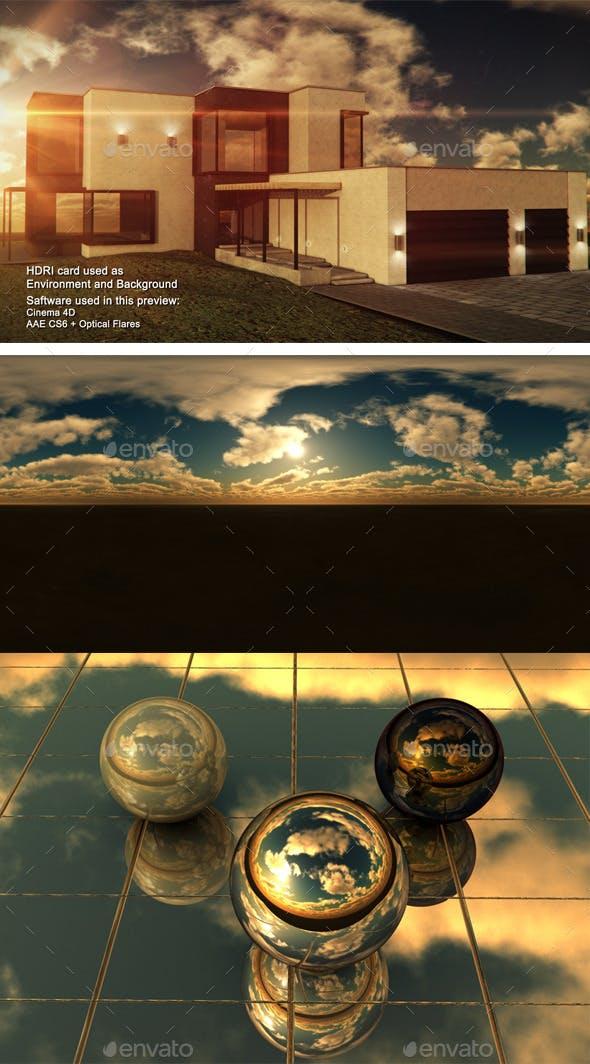 Sunset Desert 17 - 3DOcean Item for Sale