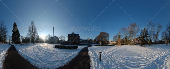 HDRI - snow plaza - 3DOcean Item for Sale