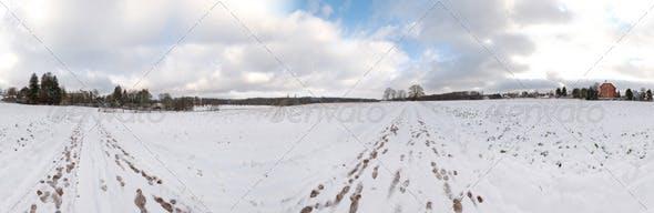HDRI - snowfield - 3DOcean Item for Sale