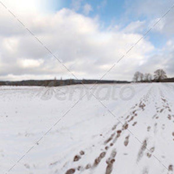 HDRI - snowfield
