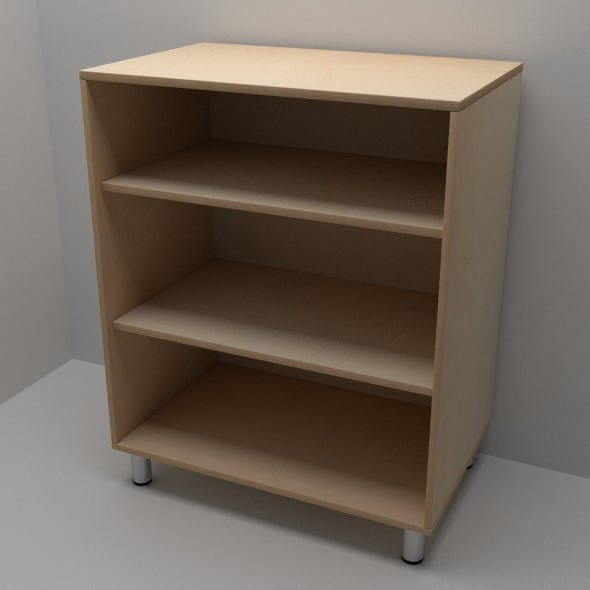 Office Shelf - 3DOcean Item for Sale