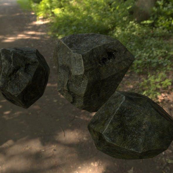Rock_Set_4 - 3DOcean Item for Sale