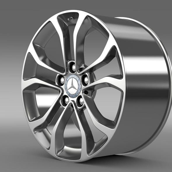 Mercedes Benz C 220  rim - 3DOcean Item for Sale