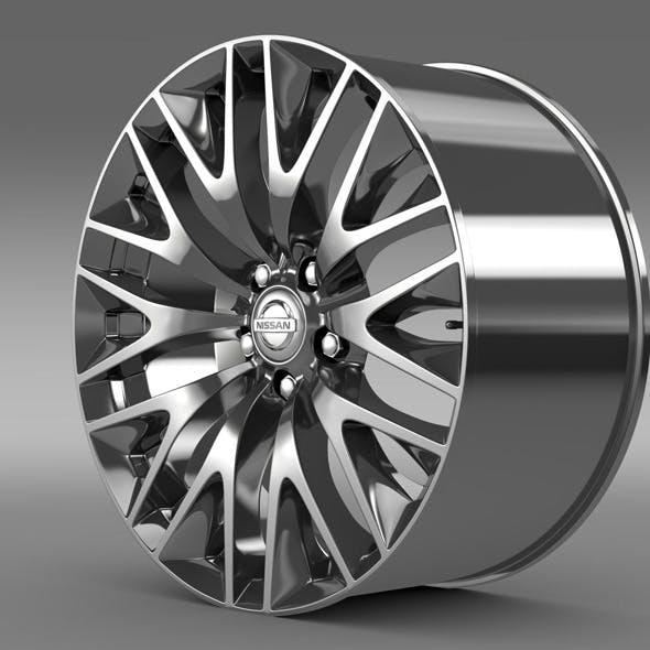 Nissan Cima Hybrid  rim - 3DOcean Item for Sale