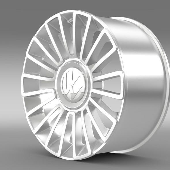 Volkswagen UP  rim - 3DOcean Item for Sale