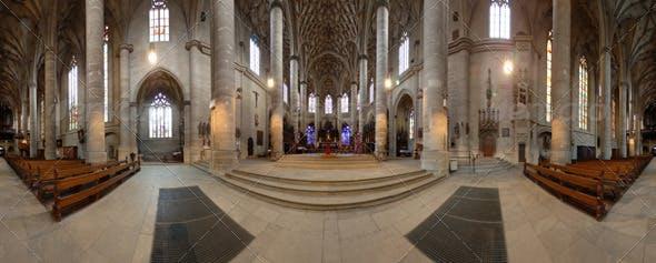 HDRI - Church - 3DOcean Item for Sale