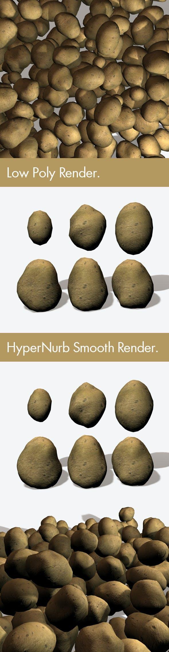Potatoes - 3DOcean Item for Sale
