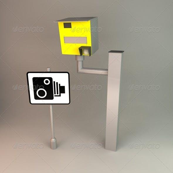 Speed Camera - 3DOcean Item for Sale