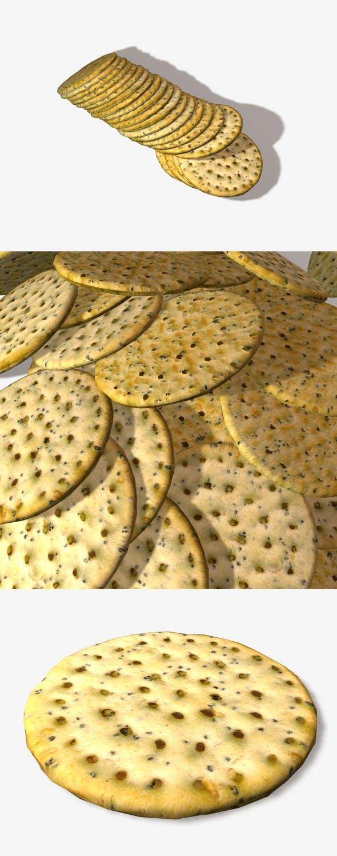Poppyseed Cracker - 3DOcean Item for Sale