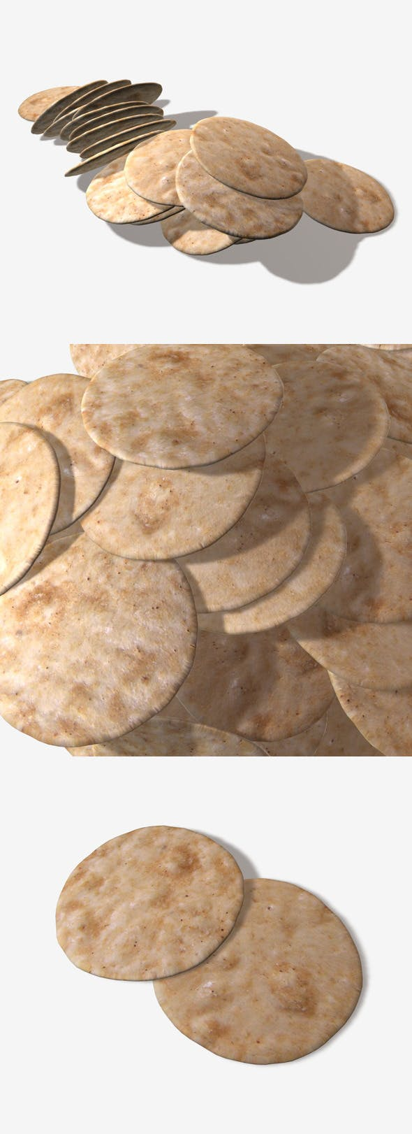 Rice Crackers - 3DOcean Item for Sale