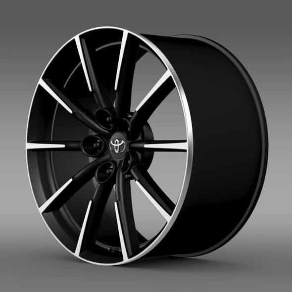 Toyota 86 G rim - 3DOcean Item for Sale