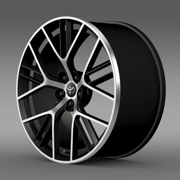 Toyota GT 86 concept rim - 3DOcean Item for Sale