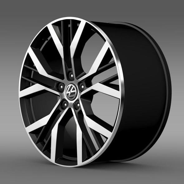 Volkswagen Golf GTI rim - 3DOcean Item for Sale
