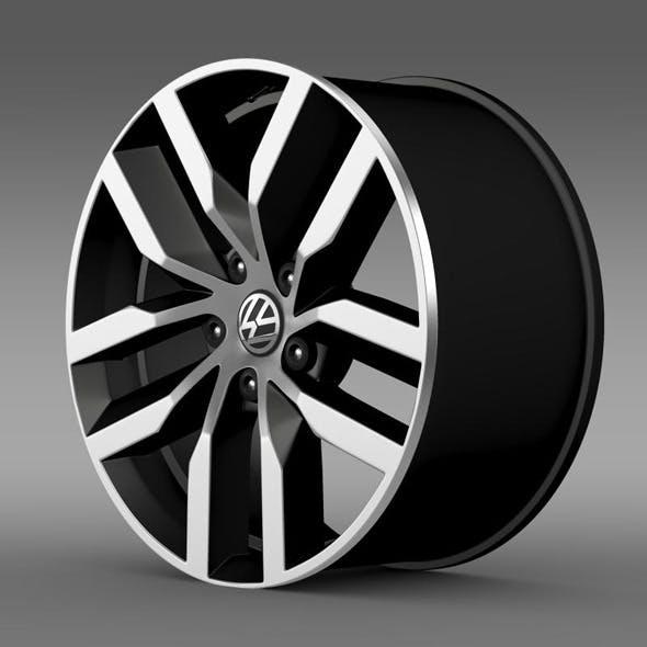 Volkswagen Golf S rim - 3DOcean Item for Sale