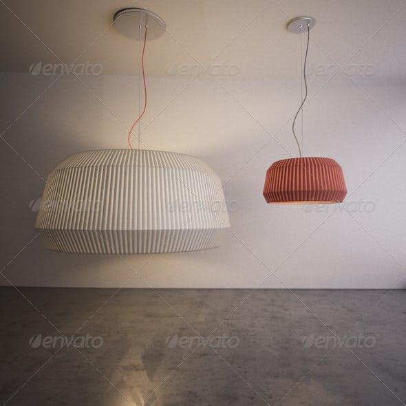 Modo Luce Loto Lamp - 3DOcean Item for Sale