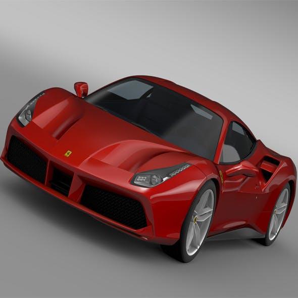 Ferrari GTB 488 2015
