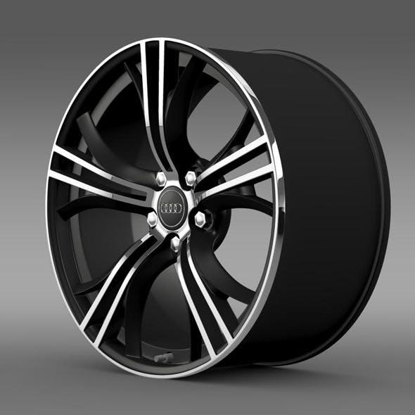 Audi R8 Exclusive rim - 3DOcean Item for Sale