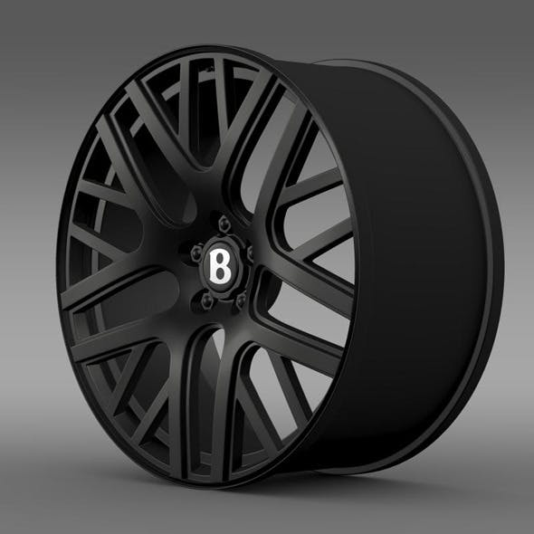 Bentley Continental GT Speed rim - 3DOcean Item for Sale