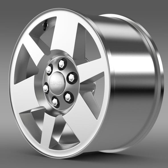 GMC Yukon XFE rim - 3DOcean Item for Sale