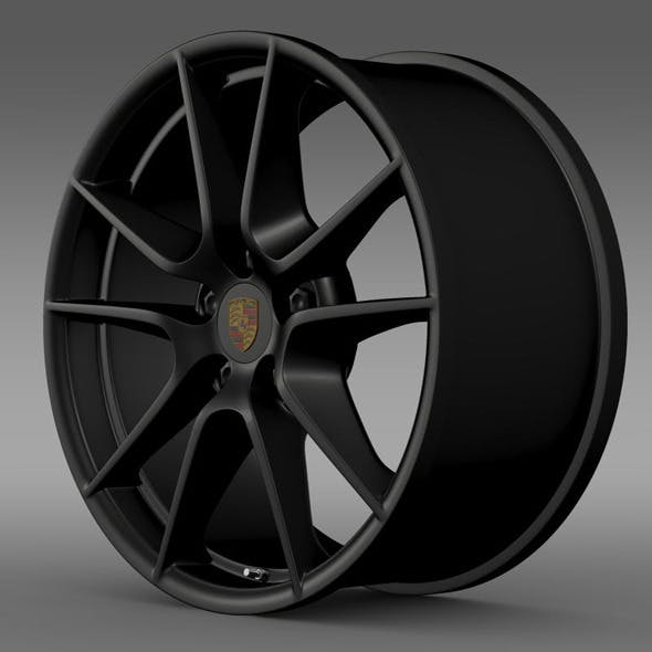 Porsche 911 Carerra Exclusive rim - 3DOcean Item for Sale