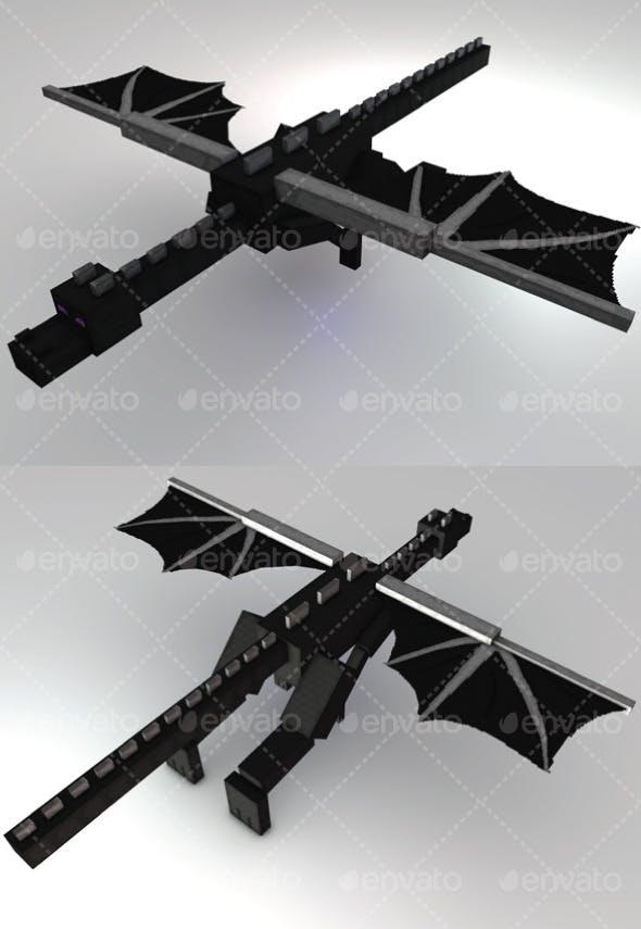 Ender Dragon Minecraft - 3DOcean Item for Sale