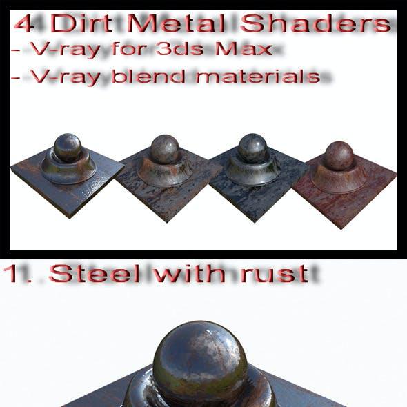 Dirty Metal Shaders
