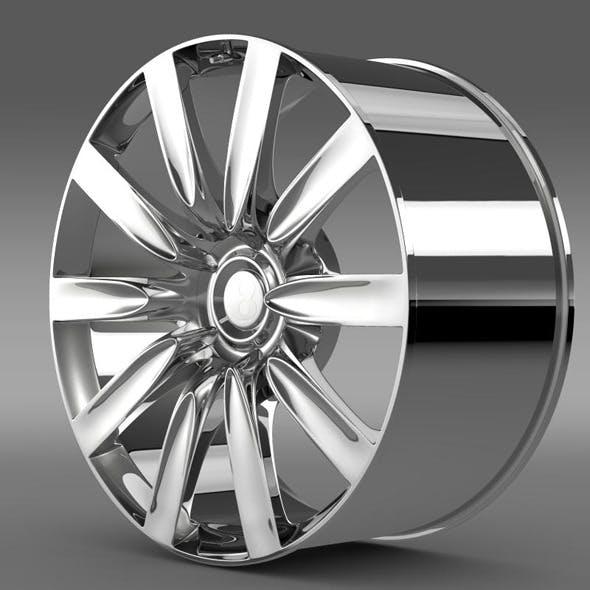 Bentley Continental GT rim - 3DOcean Item for Sale