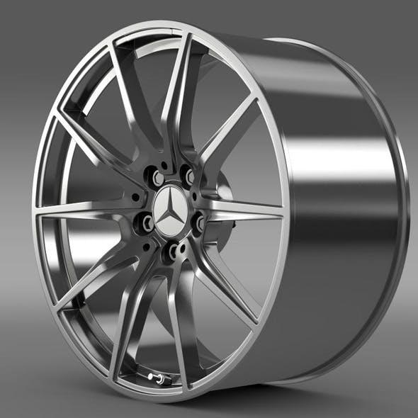 Mercedes Benz AMG GT rim - 3DOcean Item for Sale