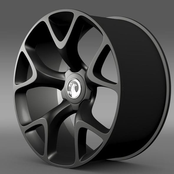 Vauxhall Insignia VRX rim - 3DOcean Item for Sale