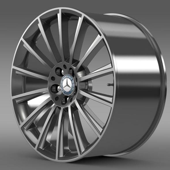 AMG Mercedes Benz S 350 rim - 3DOcean Item for Sale