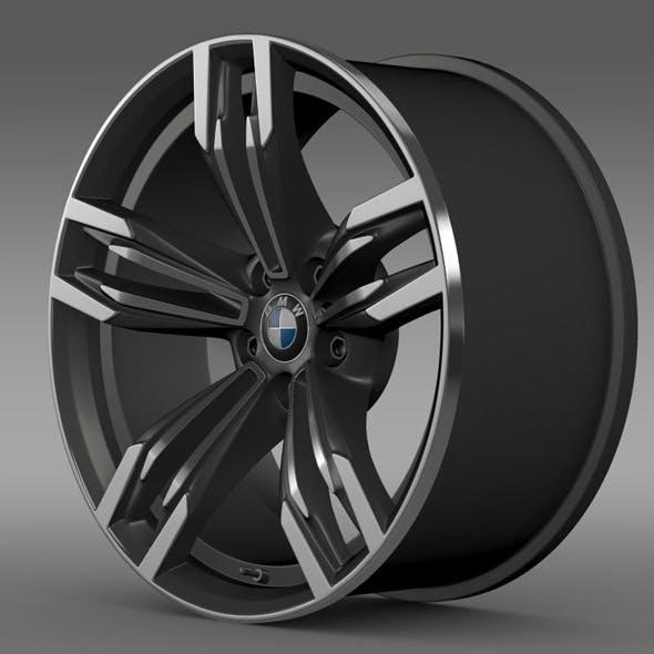 BMW M6 Gran Coupe rim - 3DOcean Item for Sale