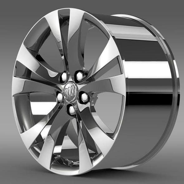 Buick Regal rim - 3DOcean Item for Sale