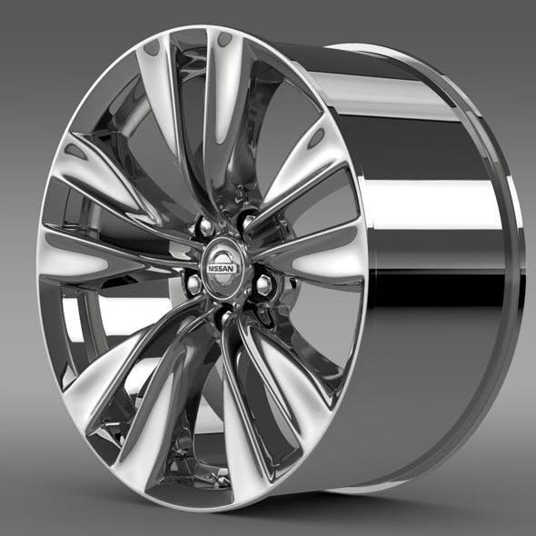 Nissan Fuga rim - 3DOcean Item for Sale