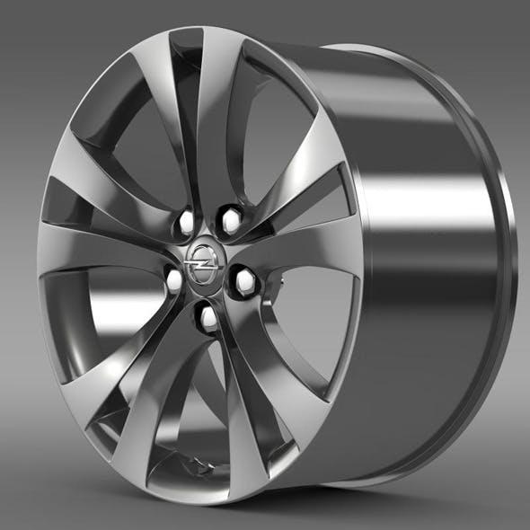 Opel Insignia rim - 3DOcean Item for Sale