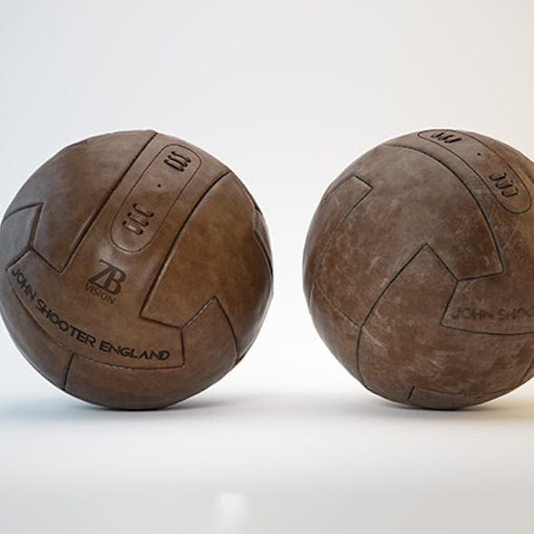 Vintage Soccer/Football Ball